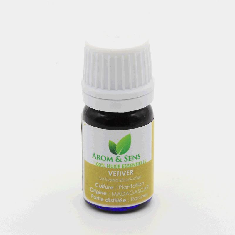 Vétiver essential oil (roots) Arom&Sens