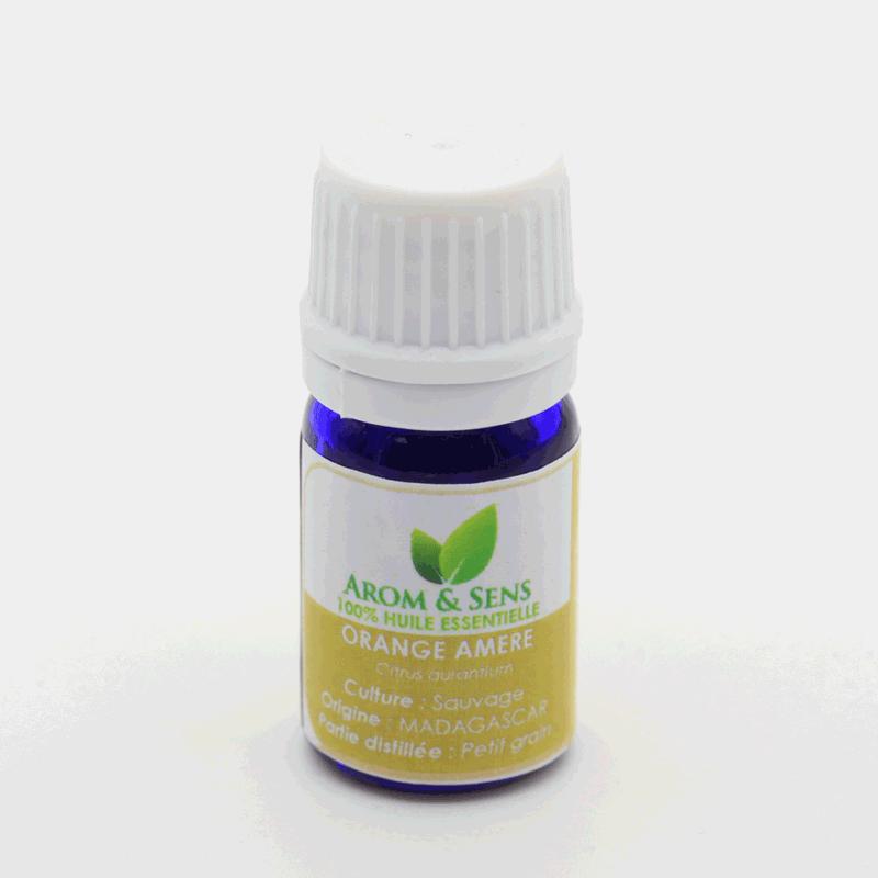 Bitteroranges or Bigarade (leaves, petit grain) essential oil, Arom&Sens