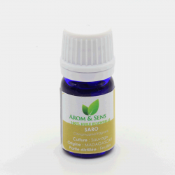 Mandravasarotra ou Saro** huile essentielle, Arom&Sens