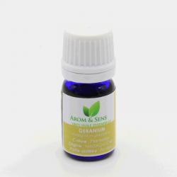 huile essentielle de géranium Arom&Sens