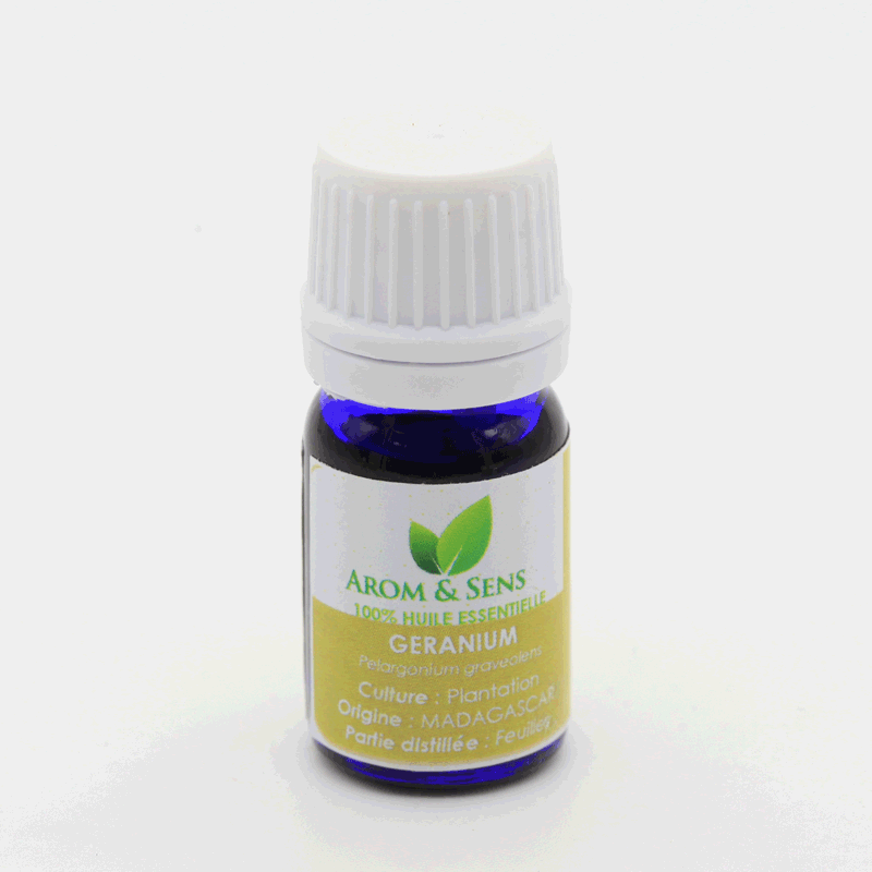 Geranium type bourbon essential oil, Arom&Sens