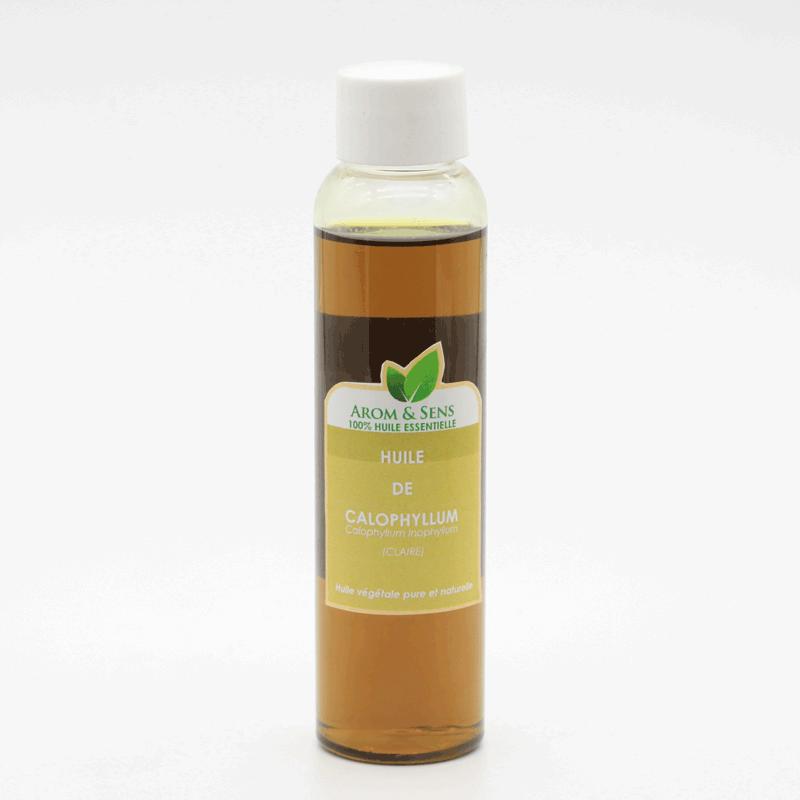 Calophyllumoil orTamanuoil orForahoil cold pressed, virgin, organic, Arom&Sens